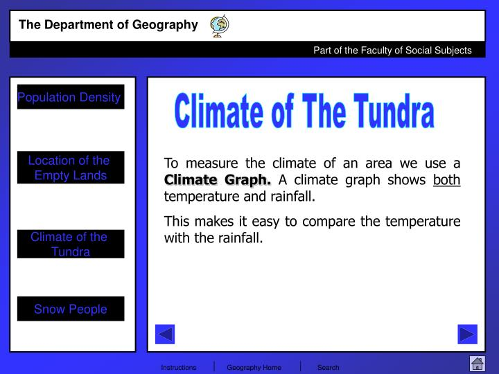 Climate of The Tundra