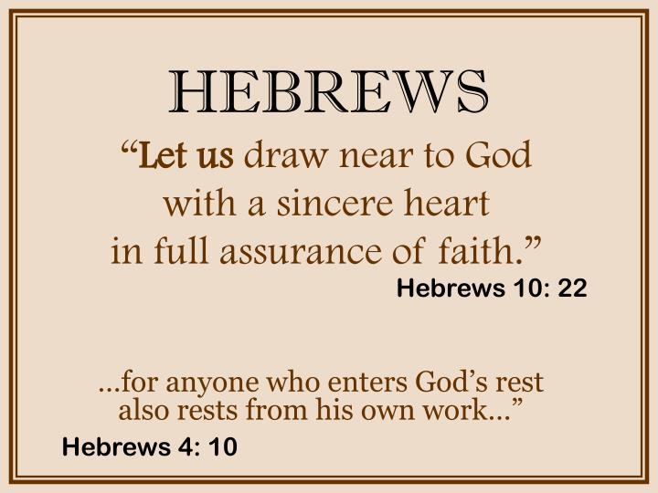 Hebrews2
