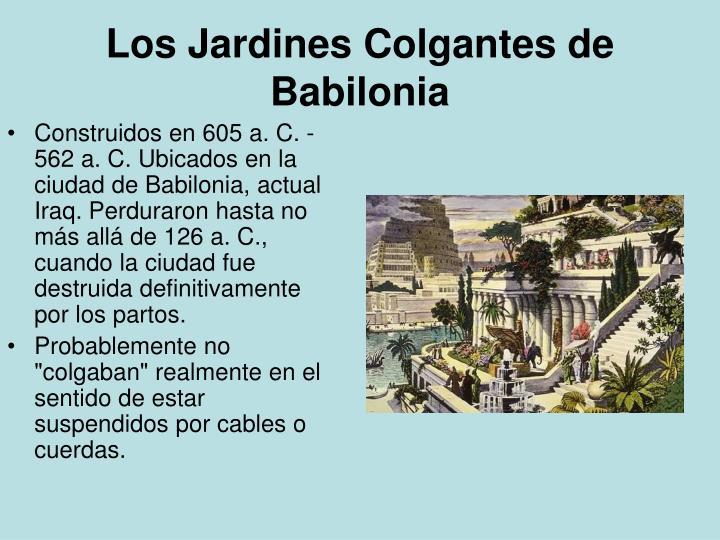 Ppt Las 7 Maravillas Del Mundo Antiguo Powerpoint Presentation