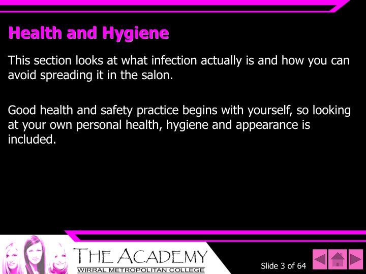 Health and hygiene