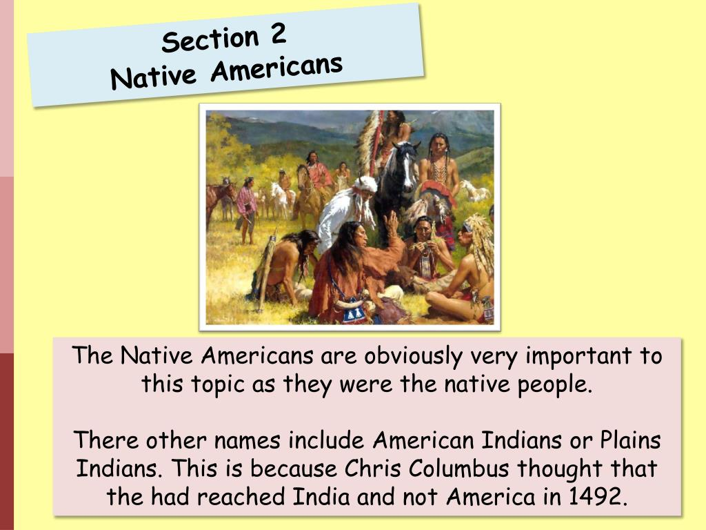ppt section 2 native americans powerpoint presentation id 5228768