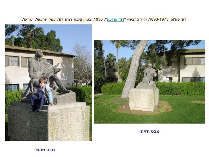 """דוד פולוס, 1893-1975, יליד סרביה- """""""
