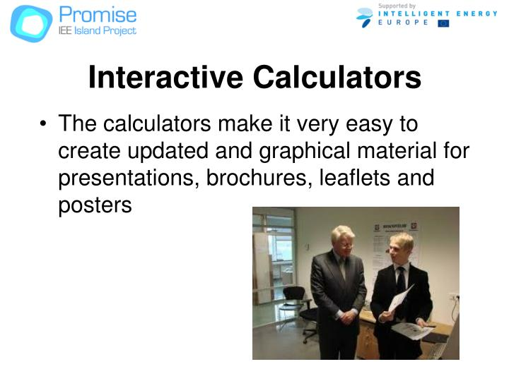 Interactive Calculators