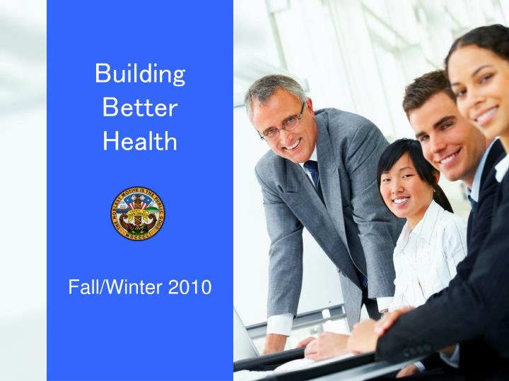 Building better health