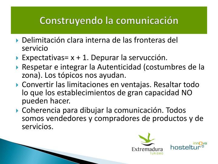 Construyendo la comunicación