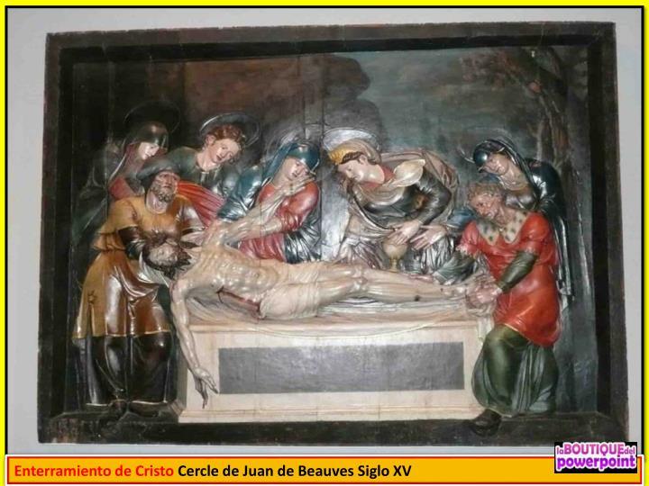 Enterramiento de Cristo