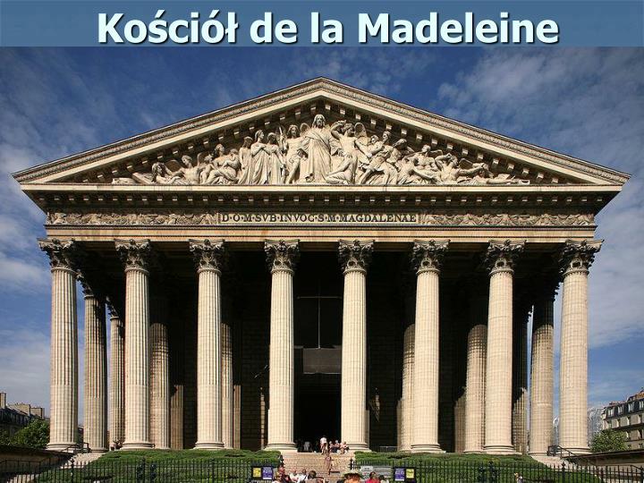 Kościół de la Madeleine