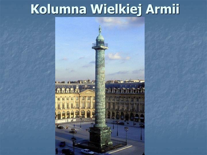Kolumna Wielkiej Armii