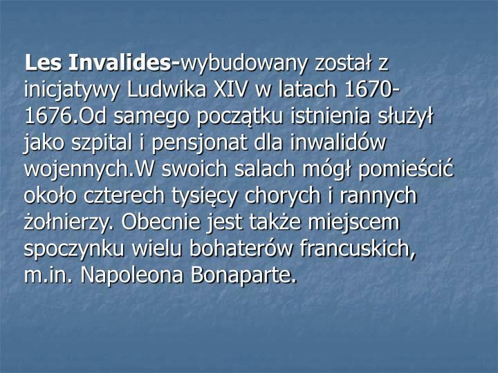 Les Invalides-