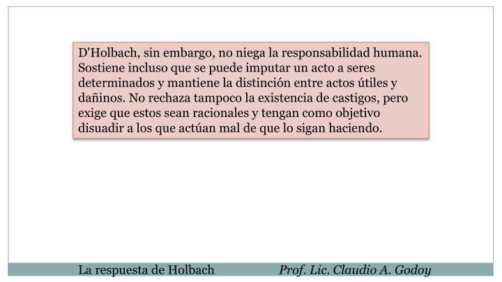 D'Holbach