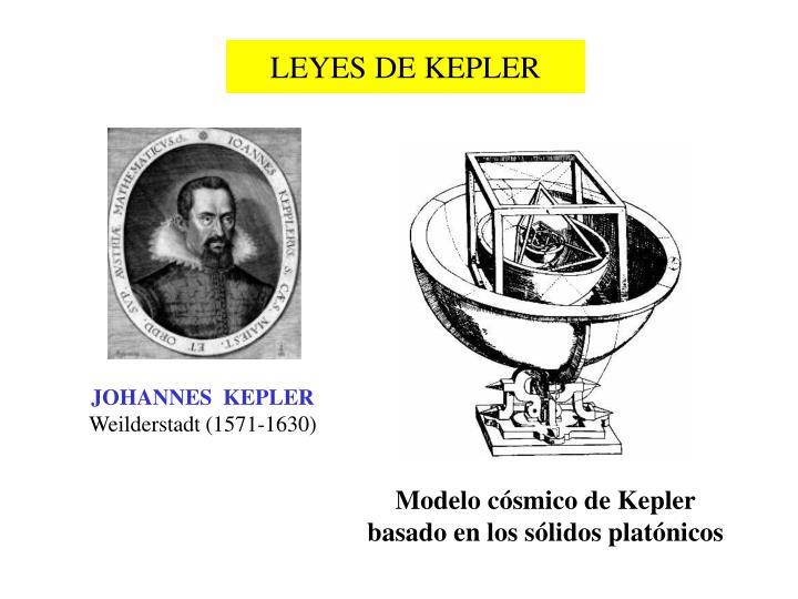 JOHANNES  KEPLER