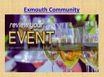exmouth community