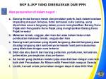 bkp jkp yang dibebaskan dari ppn1