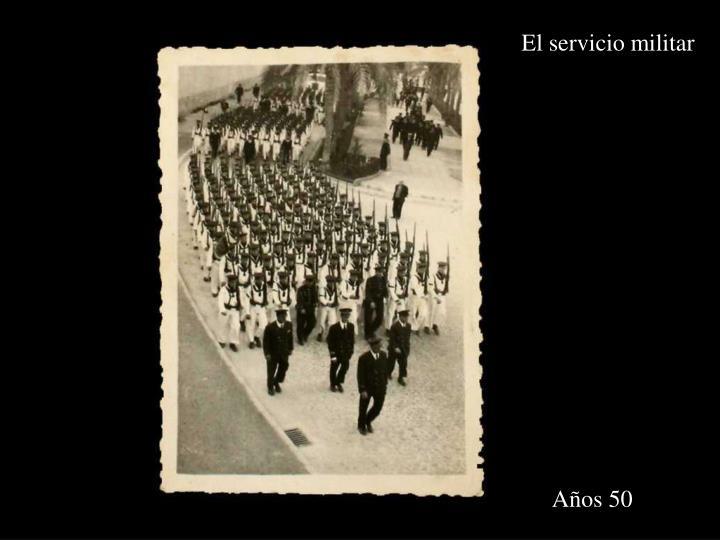 El servicio militar