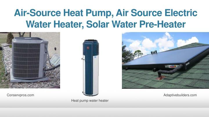 Air-Source Heat Pump, Air Source Electric