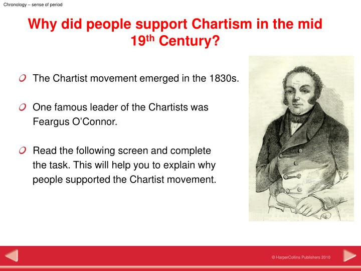 why did the emergence of chartism The chartist movement 1838 - 1848 by stephen roberts  this defeat did not, however, spell the end of chartism in 1845 feargus o'connor became interested in the land question, and the chartist .