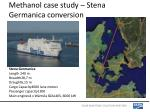 methanol case study stena germanica conversion