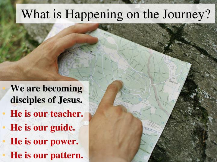 What is Happening on the Journey?