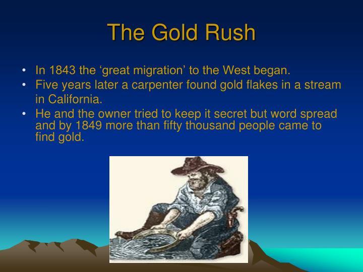 The gold rush1