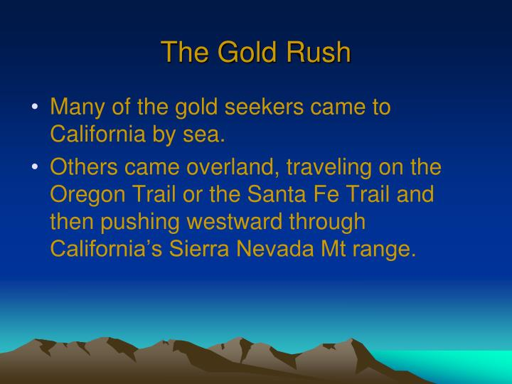 The gold rush2