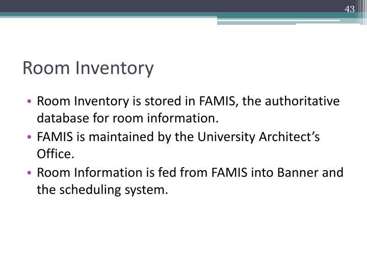 Room Inventory
