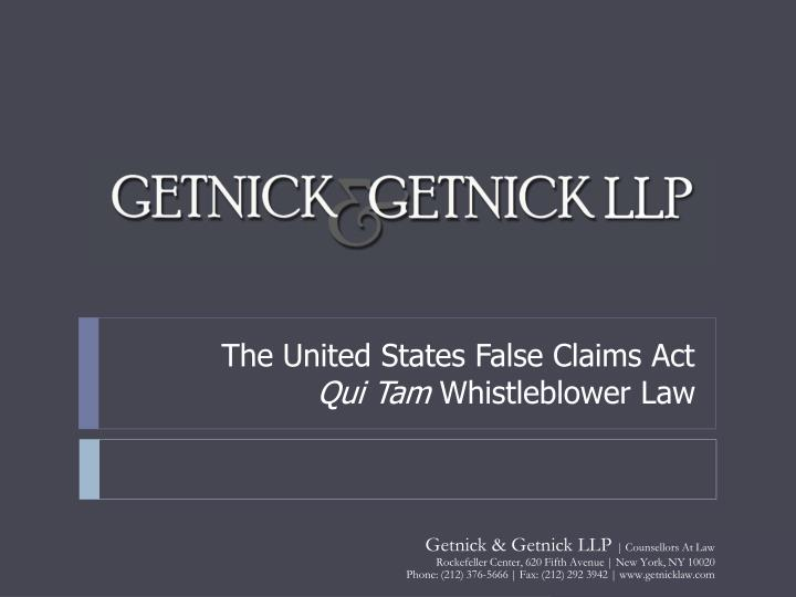 effects of the qui tam act on Litigation false claims act/qui tam defense  pharmacy defendants as rewards for promoting the following novartis drugs which the relator alleged caused serious side effects: myfortic, exjade, gleevac, tasigna and tobi  federal act to help clients stay abreast of these developments, akin gump strauss hauer & feld llp has created the.