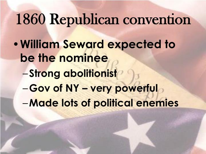 1860 Republican convention