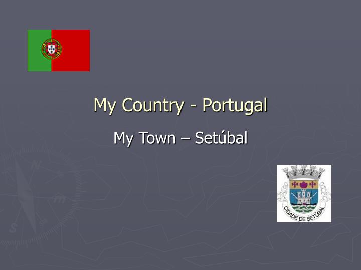my country portugal n.