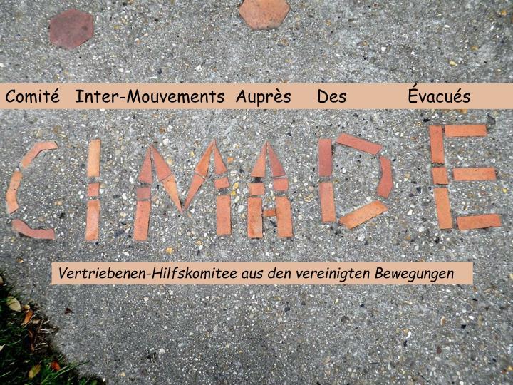 Comité   Inter-Mouvements  Auprès     Des            Évacués