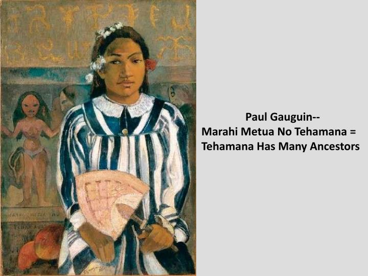 Paul Gauguin--