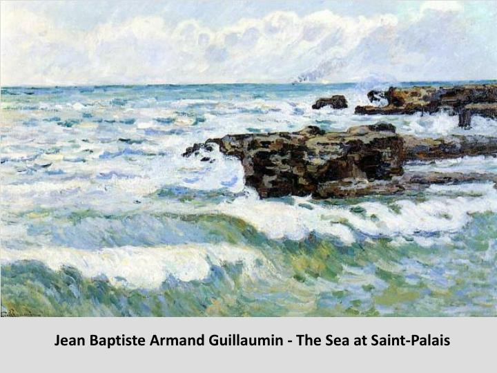 Jean Baptiste Armand Guillaumin - The Sea at Saint-Palais