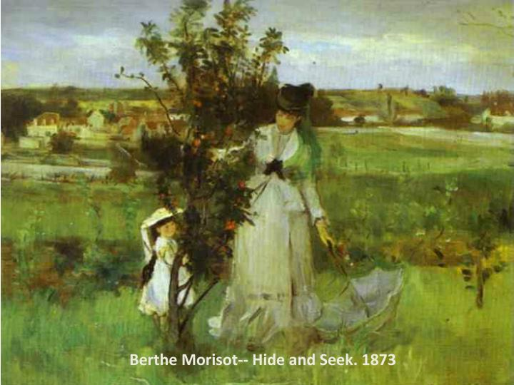 Berthe Morisot-- Hide and Seek. 1873