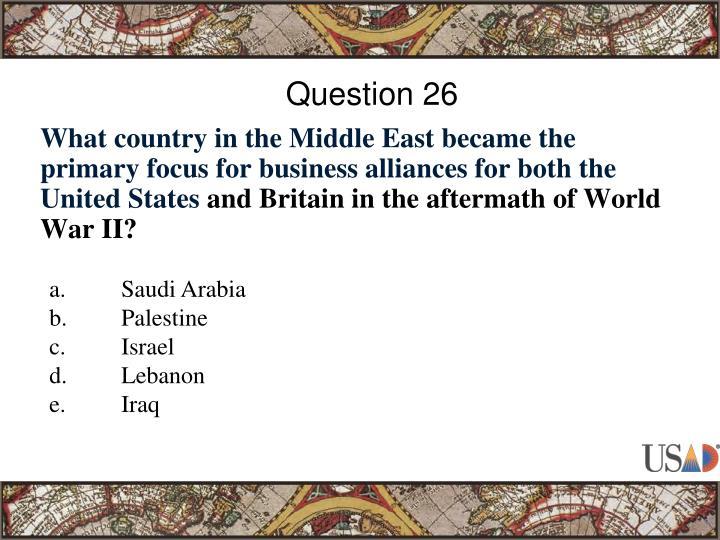Question 26