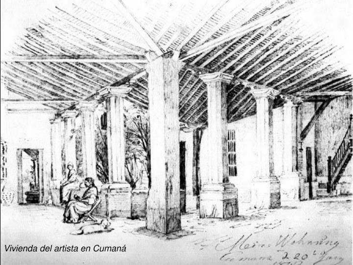 Vivienda del artista en Cumaná