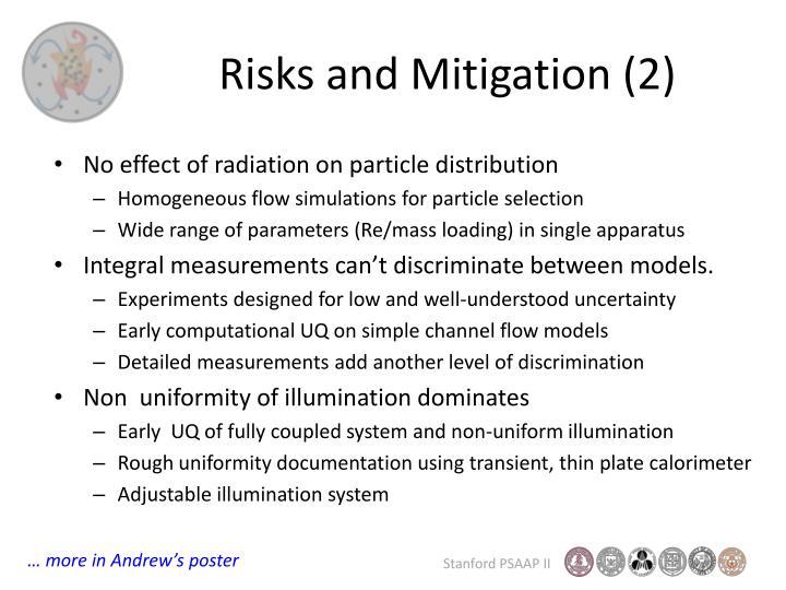 Risks and Mitigation (2)
