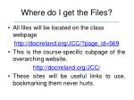 where do i get the files