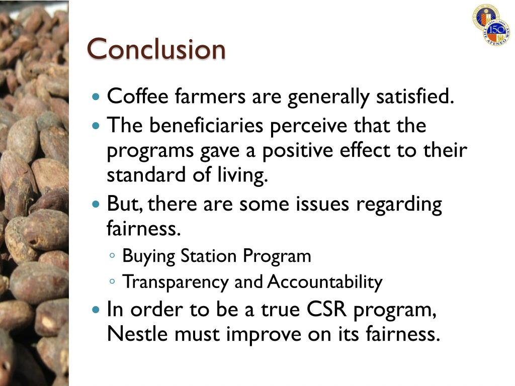 PPT - Nestle's Corporate Social Responsibility and the