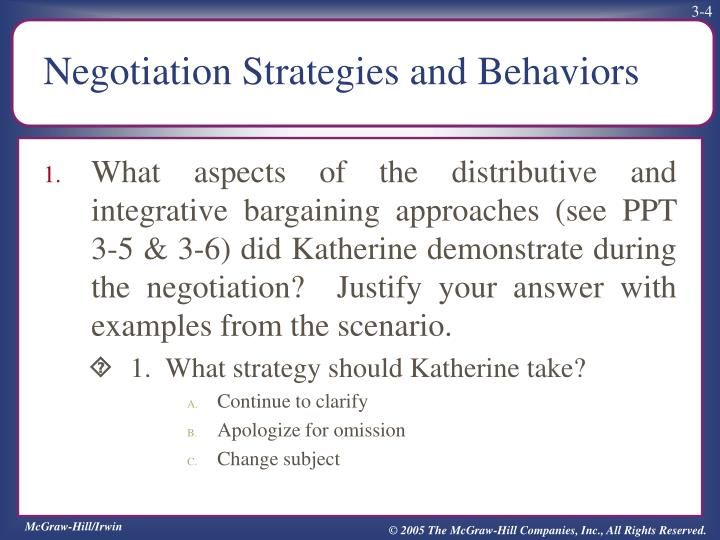 distributive negotiation vs integrative negotiation The art of negotiation, positional vs interest based or distributive or efficient strategy for negotiation than integrative negotiation.