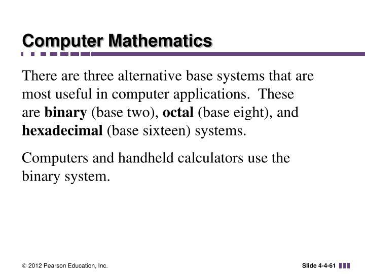 Computer Mathematics