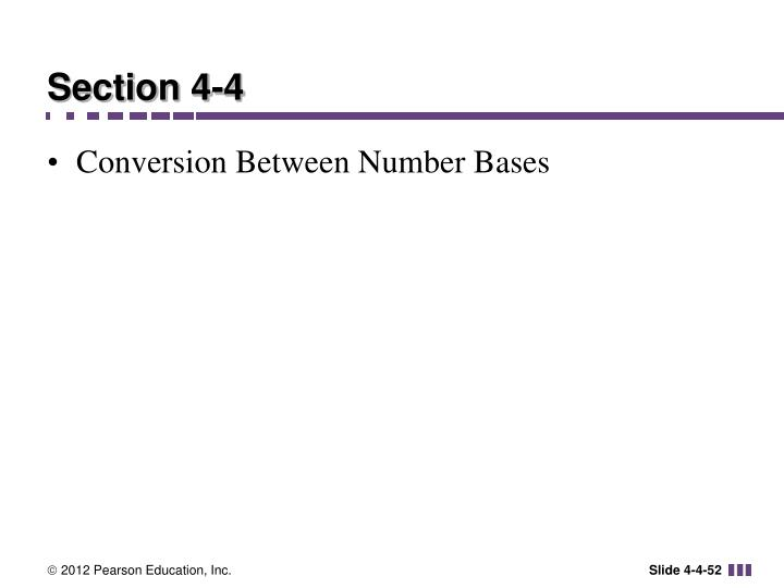 Section 4-4