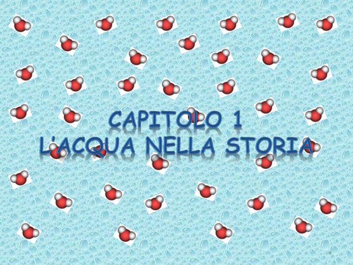 CAPITOLO 1