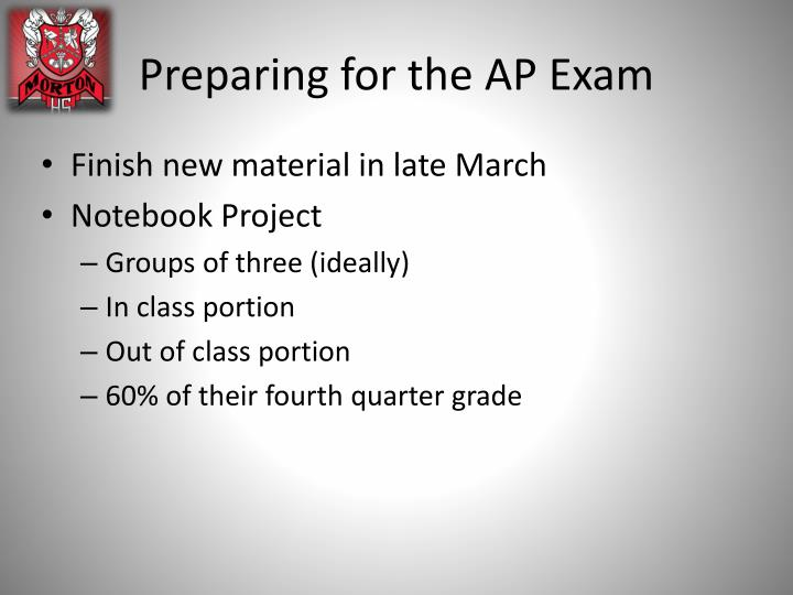 Preparing for the AP Exam