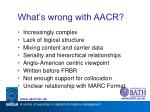 what s wrong with aacr