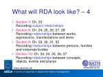 what will rda look like 4