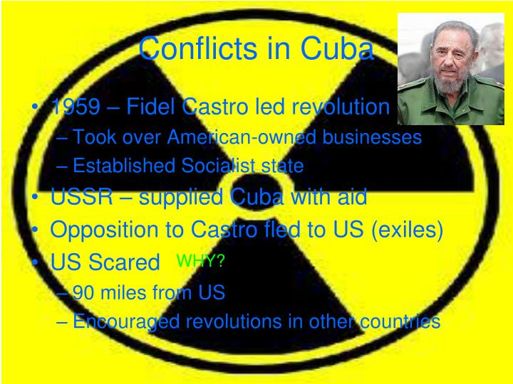 Conflicts in Cuba