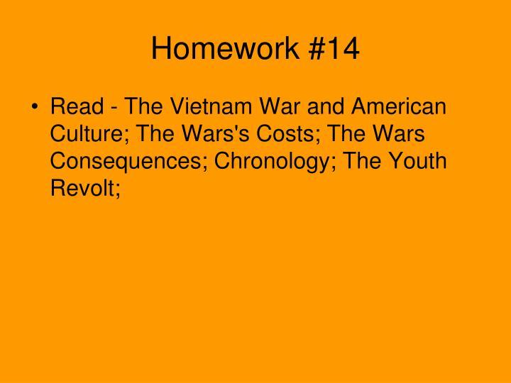Homework #14