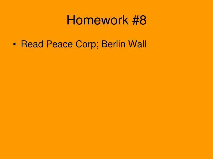 Homework #8