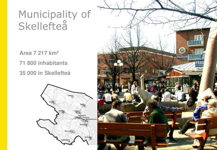 Municipality of skellefte