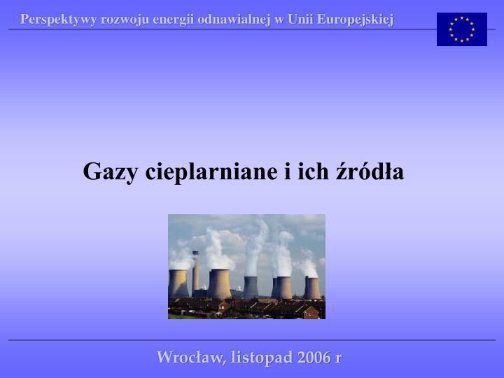 Gazy cieplarniane i ich źródła