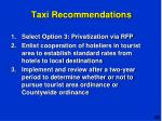 taxi recommendations1